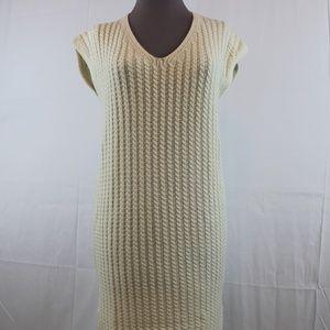 Massimo Dutti Sweater Dress S Sleeveless Long NEW
